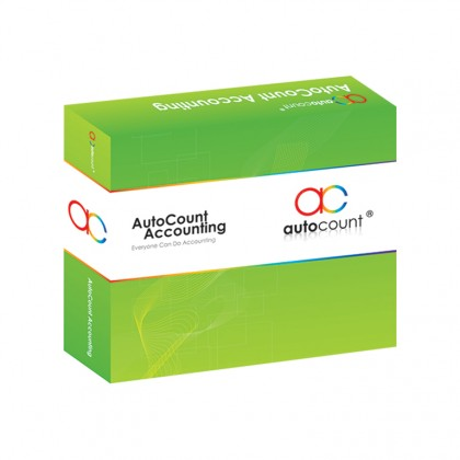AutoCount Express Complete v1.9 (Accounting + Invoicing + Stock)